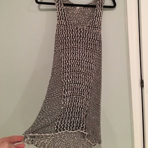CAbi : knitted sleeveless tunic dress/top